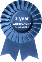 2 year workmanship guarantee